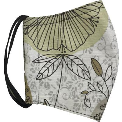 シンプルデザイン植物柄のマスク|yume-ribbon|17