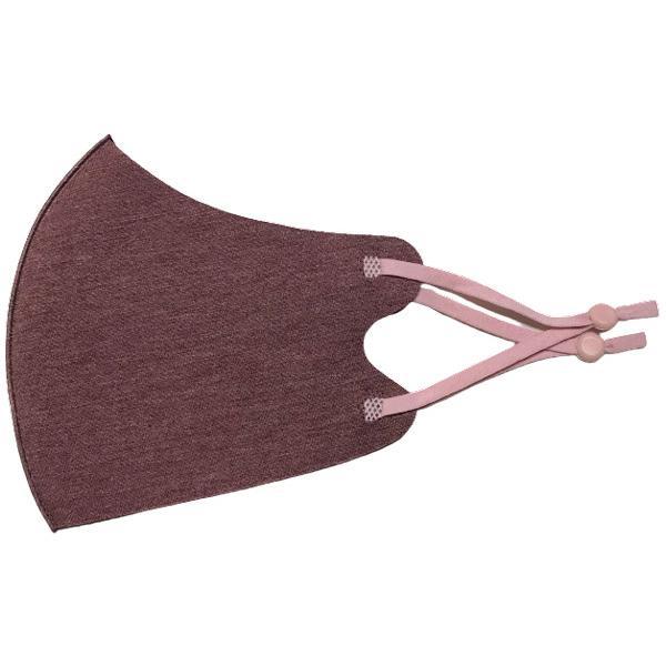 三層の厚み発熱素材秋冬マスク同色2枚セット  しっとり 柔らか あったかHOT マスク 3D立体構造 耳紐アジャスター付き 個包装|yume-ribbon|19