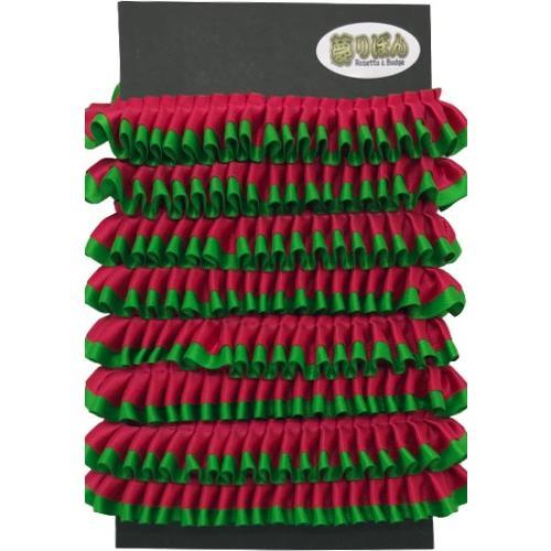 クリスマスロゼット用フリル【2m】 yume-ribbon 15