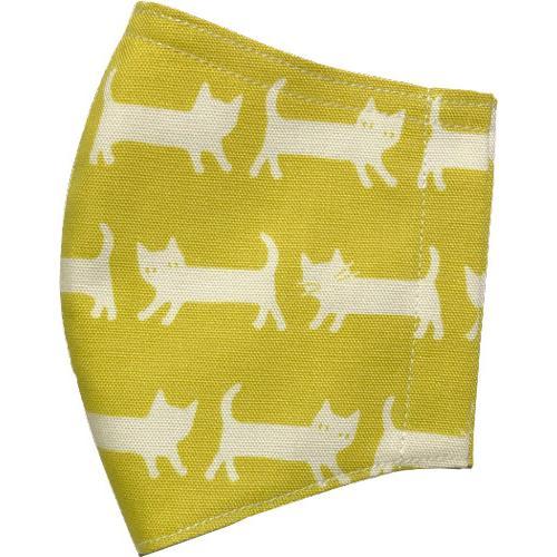ネコさんが一列に並んでとっても可愛い布マスク |yume-ribbon|20