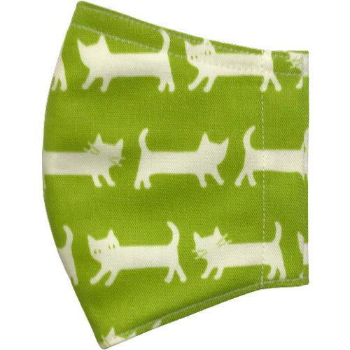 ネコさんが一列に並んでとっても可愛い布マスク |yume-ribbon|21