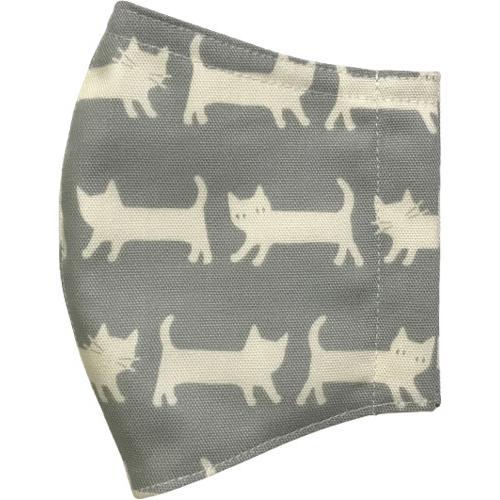 ネコさんが一列に並んでとっても可愛い布マスク |yume-ribbon|15