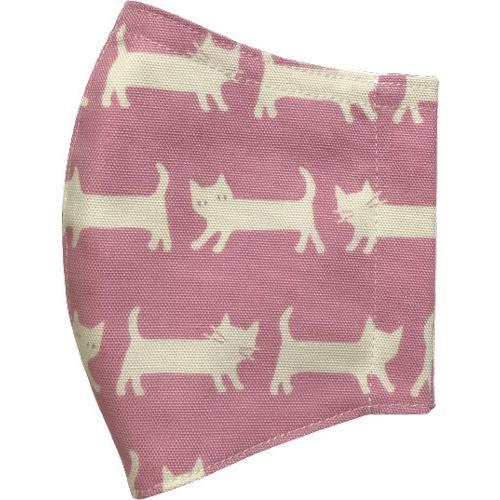 ネコさんが一列に並んでとっても可愛い布マスク |yume-ribbon|14