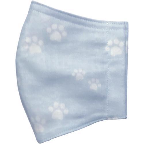 ガーゼに肉球柄プリントの布マスク  ふんわりダブルガーゼダ 猫 犬 日本製 コットン100%|yume-ribbon|17