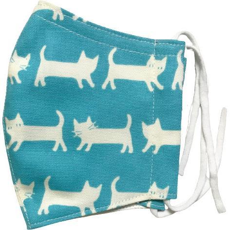 ネコさんが一列に並んでとっても可愛い布マスク |yume-ribbon|18