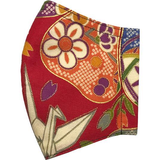 和風和柄の布マスク-3 海外へのお土産に最適 |yume-ribbon|16