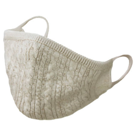 おしゃれなニットマスク 柔らかな肌触り 日本製 編み込み一体型|yume-ribbon|14