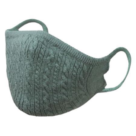 おしゃれなニットマスク 柔らかな肌触り 日本製 編み込み一体型|yume-ribbon|20