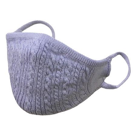 おしゃれなニットマスク 柔らかな肌触り 日本製 編み込み一体型|yume-ribbon|21
