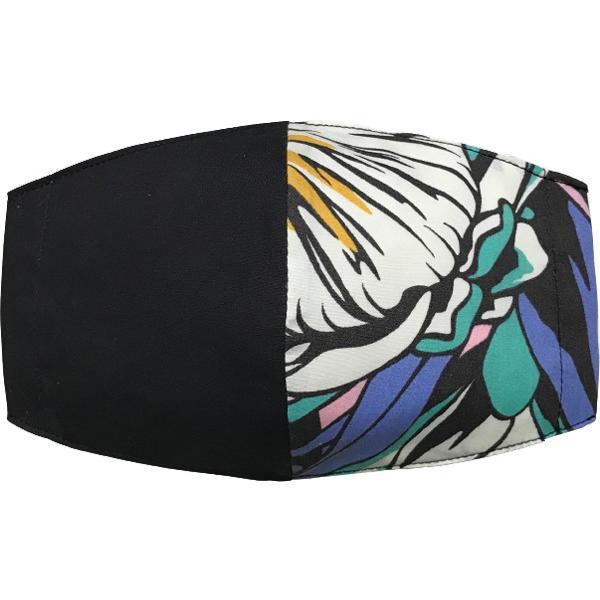 ハワイアンプリントのマスクカバー 不織布マスクがそのまま使える しわになりにくいポリコットン 肌側に抗ウイルス・抗菌素材使用  日本製 yume-ribbon 23