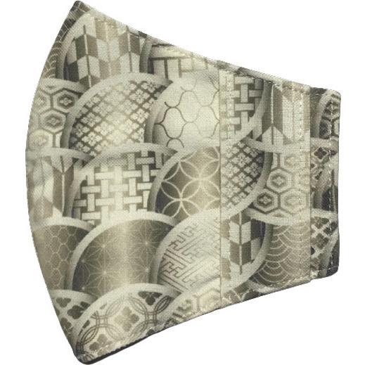和モダンマスクカバー 不織布マスクを外側につけるタイプ 市販の大人用M・Lサイズの不織布マスク用  肌側に抗ウイルス・抗菌素材使用 日本製 yume-ribbon 23