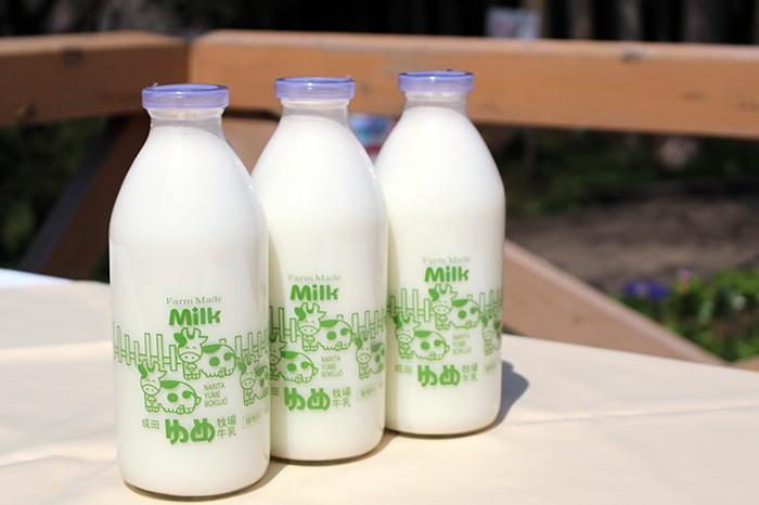 ゆめ牧場牛乳3本セット