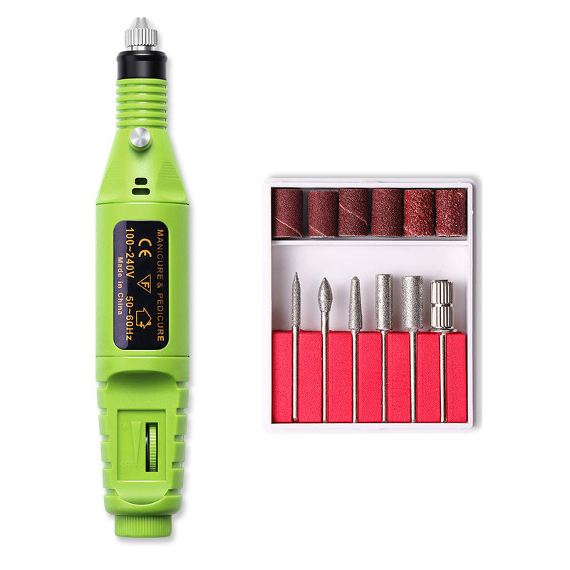電動ネイルマシン ネイルマシン 電動ネイルケア USB式 かかとケア 爪やすり 甘皮処理 角質除去 細い磨き 電動爪切り 電動爪磨き|yumekakaku|13