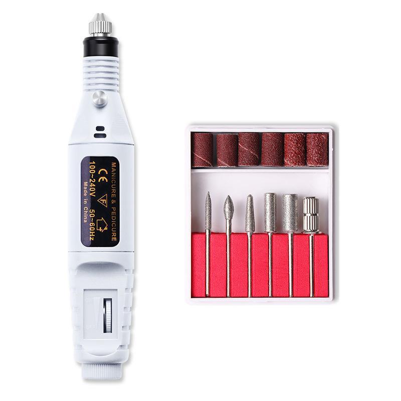 電動ネイルマシン ネイルマシン 電動ネイルケア USB式 かかとケア 爪やすり 甘皮処理 角質除去 細い磨き 電動爪切り 電動爪磨き|yumekakaku|16