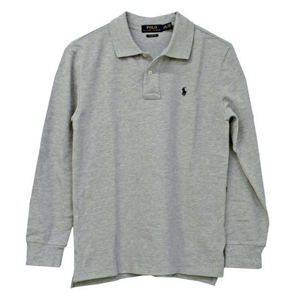 ラルフローレン ポロシャツ 長袖 コットン 綿100% 鹿の子 POLO Ralph Lauren Boy's #323703634|yumesse|13