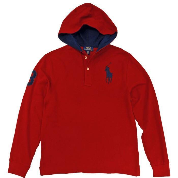 ポロラルフローレン Tシャツ Tパーカー 長袖 メンズ レディース フード付き カットソー ブランド 綿100% #323737843|yumesse|13