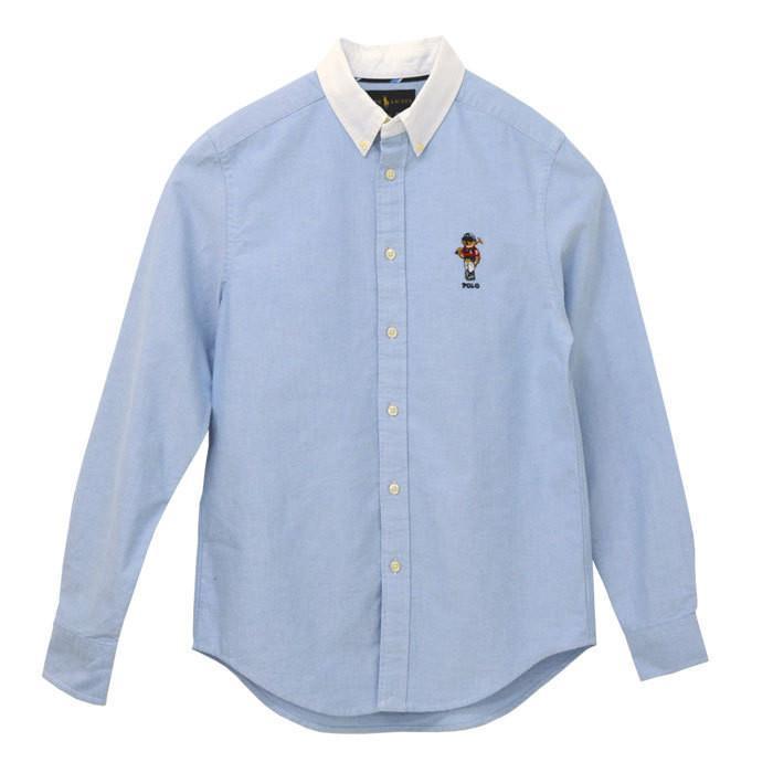シャツ 長袖 メンズ レディース 2021 春新作 ポロラルフローレン オックスフォード カジュアル ポロベア ブランド #323836592|yumesse|10