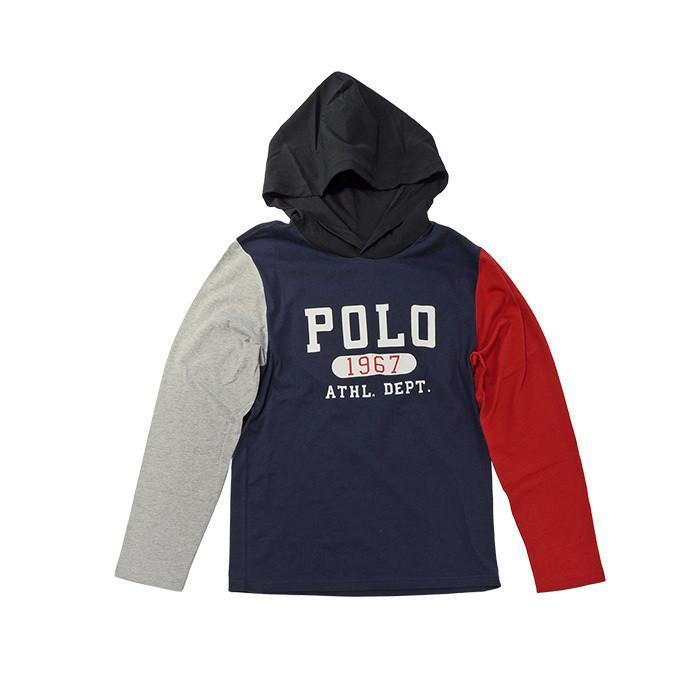 ポロラルフローレン 長袖 Tシャツ Tパーカー メンズ レディース フード付き ブランド 綿100% #323853714|yumesse|09
