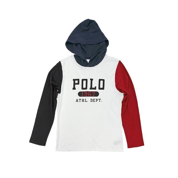 ポロラルフローレン 長袖 Tシャツ Tパーカー メンズ レディース フード付き ブランド 綿100% #323853714|yumesse|08