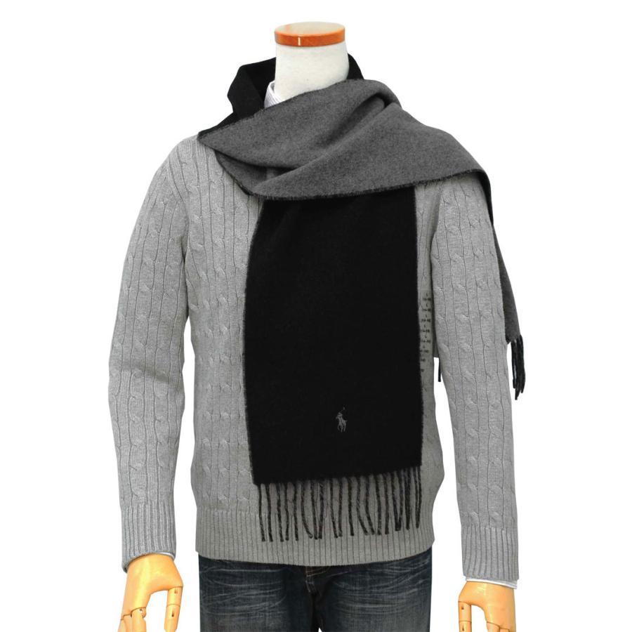 ポロ ラルフローレン マフラー 2020年秋冬新作 クラシック リバーシブル イタリア製 メンズ レディース プレゼント ブランド POLO Ralph Lauren #pc0455|yumesse|07