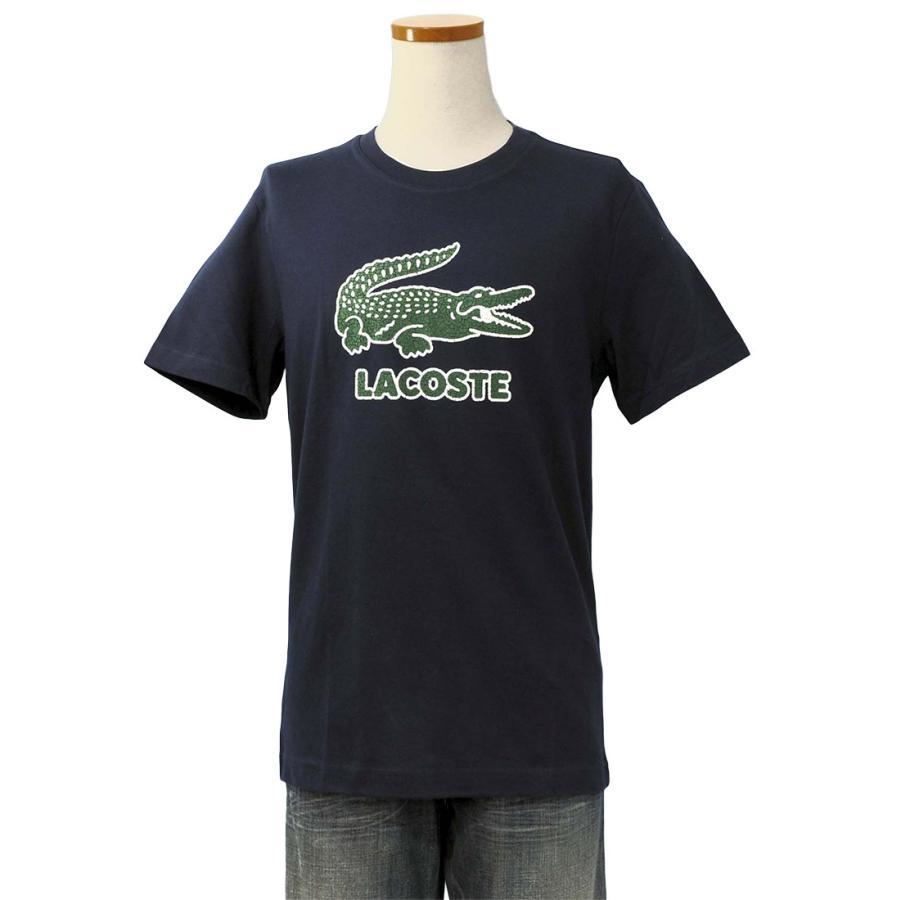 ラコステ Tシャツ メンズ 半袖 ブランド 大きい オシャレ Lacoste 綿100% 父の日 プレゼント カットソー XXL #th-0063-51|yumesse|15