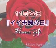 11月22日は『いい夫婦の日』