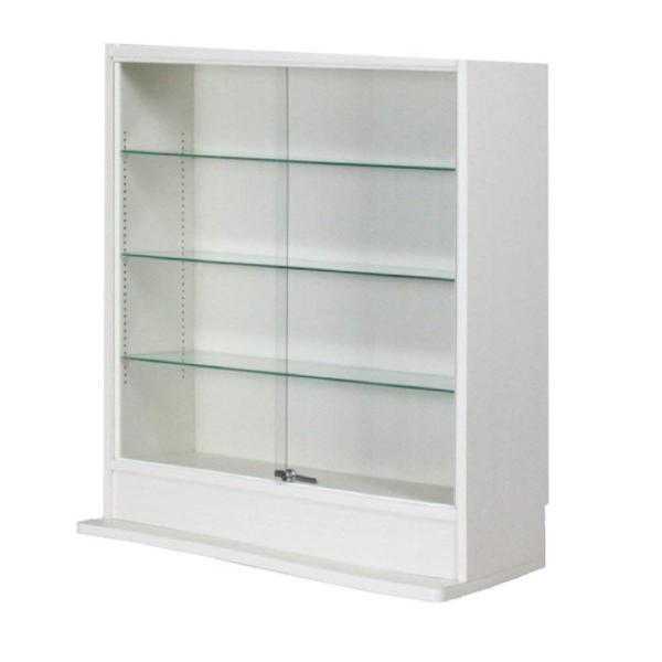 コレクションラック ロータイプ  ガラス引戸タイプ (幅90cmX奥行39cm) [選べる5カラー][ほこりをシャットアウト](送料無料)|yumugiya|05