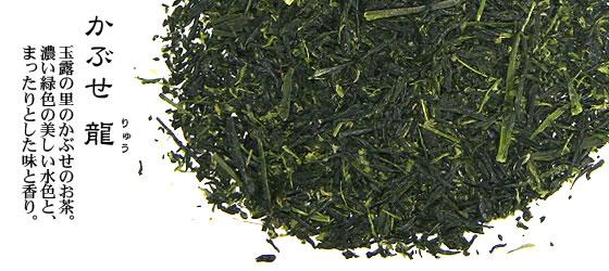 静岡茶 | かぶせ 龍