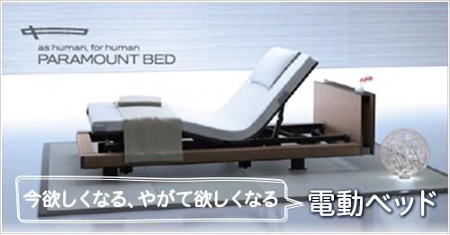 今欲しくなる、やがて欲しくなる 電動ベッド