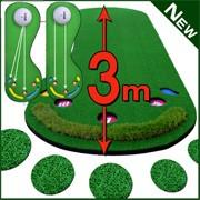 3ホールパターマットゴルフ