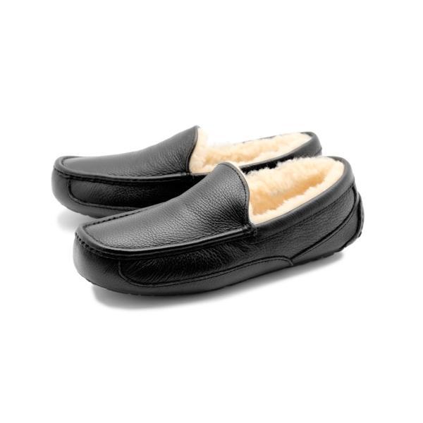 UGG アグ スリッポン アスコット ASCOT 5379 メンズ 靴 レザー シューズ ローファー フラットシューズ|z-craft|08