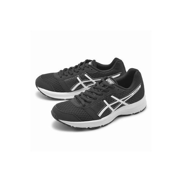 アシックス ランニングシューズ レディース ASICS 靴 スニーカー 白 黒 パトリオット 8 運動靴 スポーツ ジョギング ローカット 通学|z-craft|07