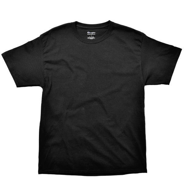 (メール便 送料無料) チャンピオン Tシャツ メンズ レディース CHAMPION T425 ブラック 黒 ホワイト 白 グレー ウェア ウエア トップス カジュアル|z-craft|11