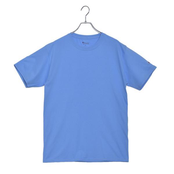 (メール便 送料無料) チャンピオン Tシャツ メンズ レディース CHAMPION T425 ブラック 黒 ホワイト 白 グレー ウェア ウエア トップス カジュアル|z-craft|24