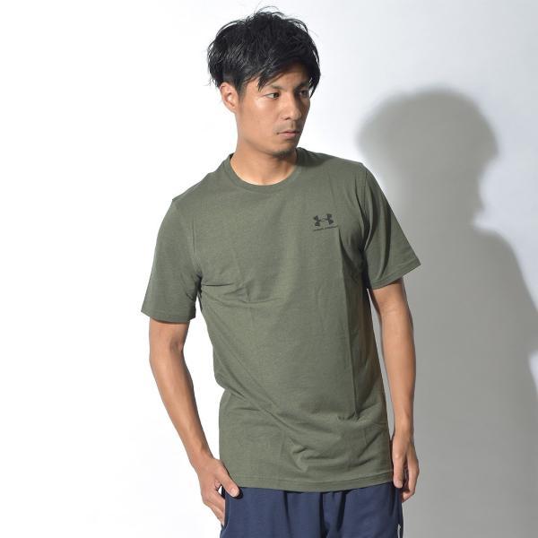 【メール便可】UNDER ARMOUR アンダーアーマー Tシャツ レフト チェスト ロゴTシャツ 1257616 メンズ z-craft 17