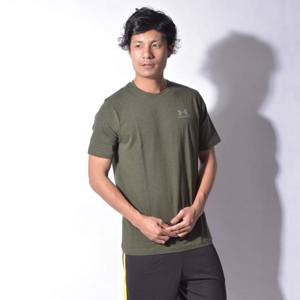 【メール便可】UNDER ARMOUR アンダーアーマー Tシャツ レフト チェスト ロゴTシャツ 1257616 メンズ z-craft 18