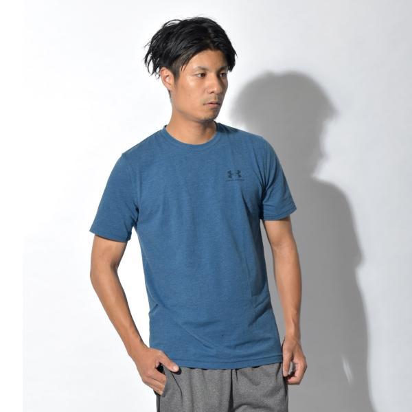 【メール便可】UNDER ARMOUR アンダーアーマー Tシャツ レフト チェスト ロゴTシャツ 1257616 メンズ z-craft 19