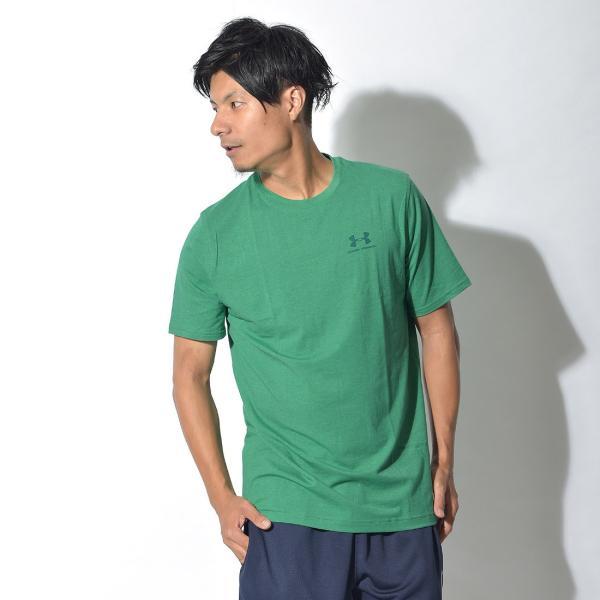 【メール便可】UNDER ARMOUR アンダーアーマー Tシャツ レフト チェスト ロゴTシャツ 1257616 メンズ z-craft 20