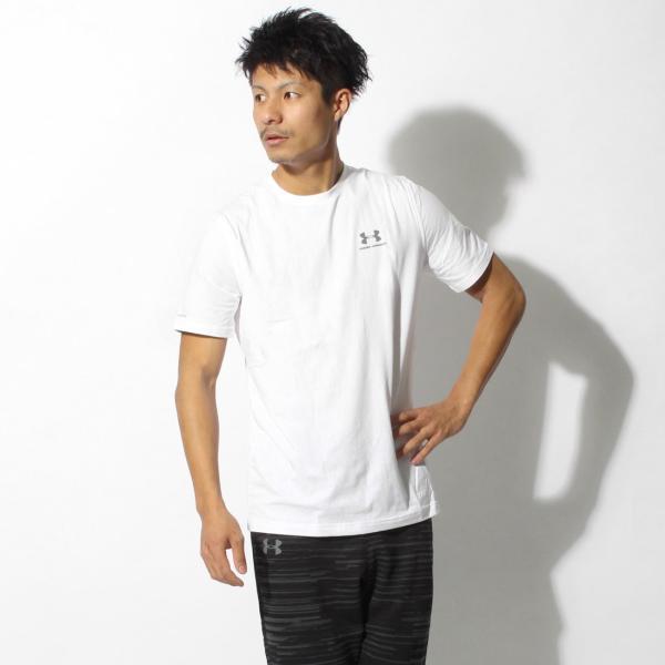 【メール便可】UNDER ARMOUR アンダーアーマー Tシャツ レフト チェスト ロゴTシャツ 1257616 メンズ z-craft 25