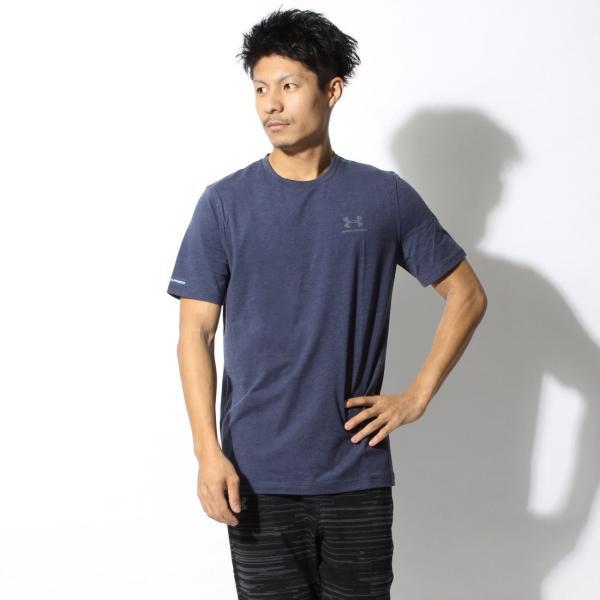 【メール便可】UNDER ARMOUR アンダーアーマー Tシャツ レフト チェスト ロゴTシャツ 1257616 メンズ z-craft 26
