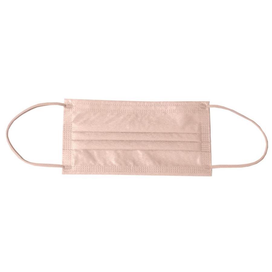 不織布マスク レディース 女性用 メンズ 男性用 カラー 柄入り 使い捨て 花 1DAY 7枚セット ゆうパケット可 秋冬 z-mall 32