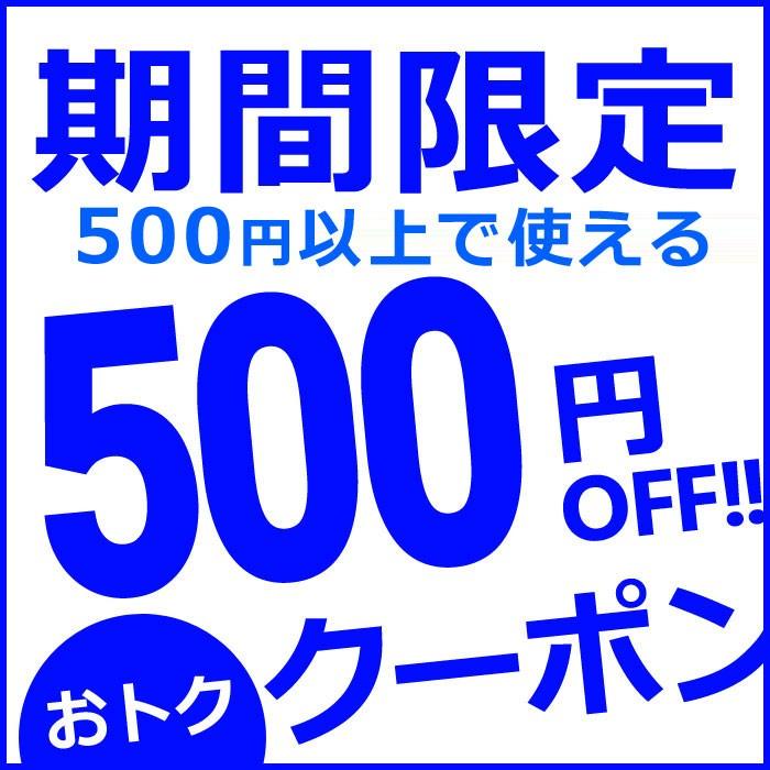 【緊急配布!】店内全品☆ 誰でも使える500円オフクーポン!