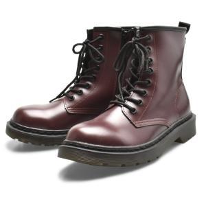 ブーツ レディース 8ホールブーツ TODOS TO-326 ブラック 黒 レッド 赤 靴 おしゃれ カジュアル サイドジップ 美脚 紐 トドス Z-SPORTS PayPayモール店