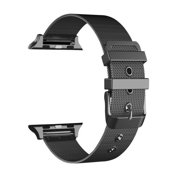 アップルウォッチ ベルト Apple Watch Series Series3 Series2 替えベルト 汎用 38mm 42mm シンプル ステンレススチール製 サイズ調節 おしゃれ 時計バンド|zacca-15|11