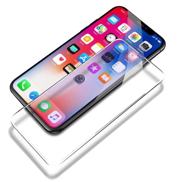 iphonexsmax ガラスフィルム 全面 iPhoneXS iPhoneX iPhoneXR 強化ガラス 液晶保護フィルム 9H 高硬度 スマホフィルム 薄型 耐衝撃 zacca-15 20