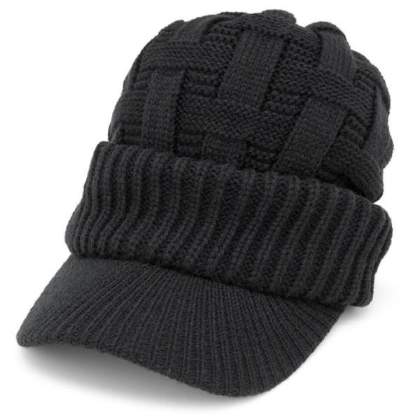 ニット帽 つば付き メンズ レディース 帽子 秋冬 [M便 9/8]2|zaction|21
