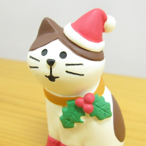 DECOLE(デコレ) concombre(コンコンブル) Merry CHRISTMAS concombre APPLE PARTY Merryにゃんこ