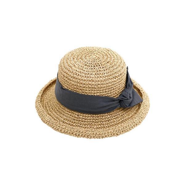 帽子 麦わら帽子 レディース UVカット帽子 uv 折りたたみ ストローハット ハット 帽子 レディース 折りたたみ 折り畳み 【メール便配送可10】|zakka-naturie|28