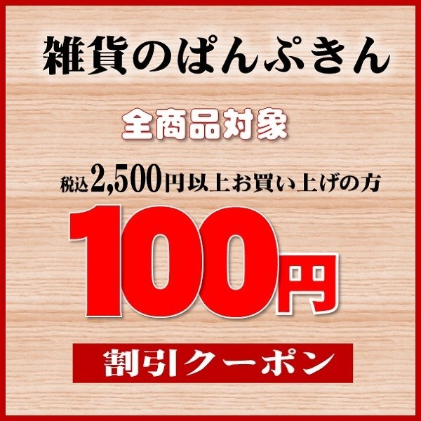 商品合計2160円以上のお買い物で100円引きクーポン使えます!