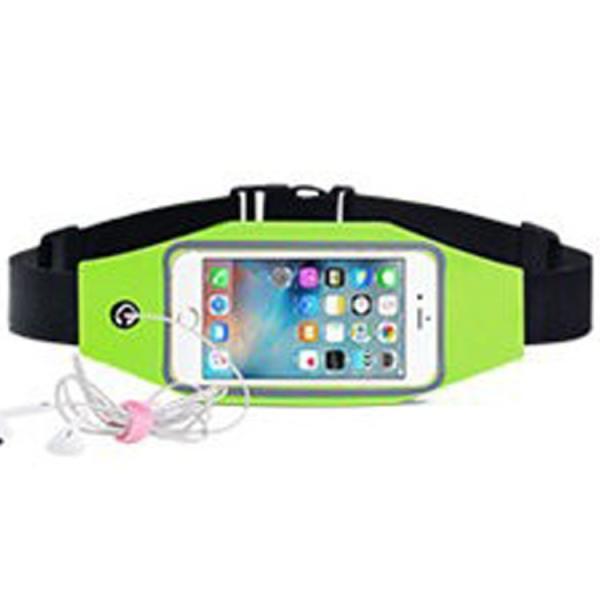 ウエストポーチ  運動 スマホ iPhone 防水ケース ポッチ スマホ ランニング ジョギング ウォーキング ジム タッチ操作 得トク2WEEKS セール|zakkacity|13